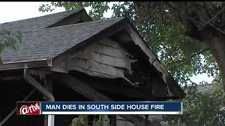 65-year-old man dies in house fire on Indianapolis' south side - Video