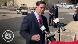 Gov. Ducey SNAPS on Reporter and Embarrasses Him on Live TV