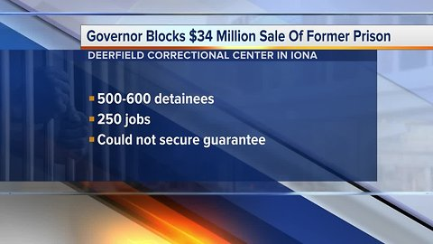 Governor blocks plans for immigration detention center in Michigan
