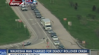 Waukesha man charged in deadly crash - Video