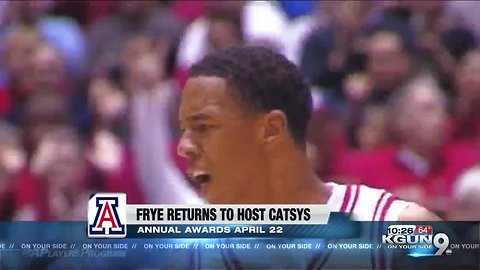 Channing Frye to host U of A athletic award event