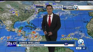 SATURDAY EVENING tropical update - Video