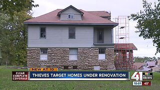 Thieves target KC homes under renovation to steal appliances