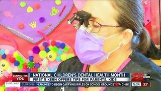 February is National Children's Dental Health Month - Video