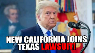 New California & New Nevada BACK Texas Election Lawsuit