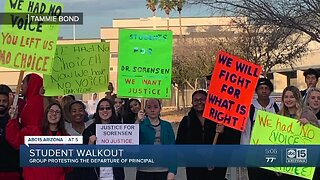 Valley students fight for their principal