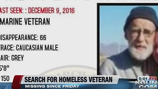 Veterans on Patrol asking for help in locating missing homeless veteran - Video