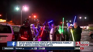 Omaha family gets Star Wars surprise - Video