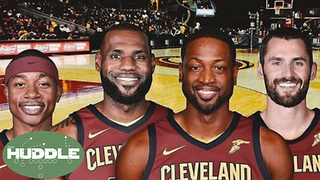 Dwyane Wade to the Cavs; Can They Beat the Warriors Now? -The Huddle - Video