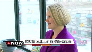 Survivor talks about PTSD, after sexual assault and #MeToo Campaign - Video