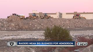 Henderson riding the Raiders wave to western expansion - Video