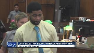 Jury selection begins in Heaggan-Brown trial - Video
