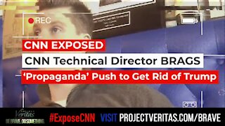 BUSTED! CNN Engaged in 'Propaganda' to Remove Trump from Presidency [exposecnn.com]