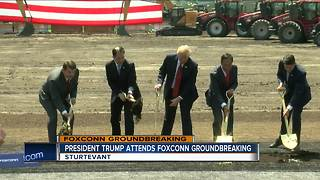 Foxconn officially breaks ground in Mount Pleasant