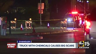 Roadway reopened following phosphorus spill after Chandler crash