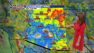 Winter weather moving into Valley - Video