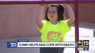 Phoenix camp helping kids cope with personal tragedy - Video