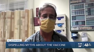 Doctors debunk myths about COVID-19 vaccine
