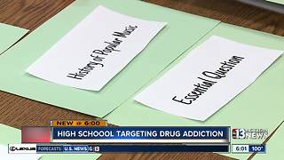 New CCSD high school will help students recovering from addiction - Video