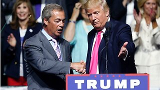 Trump praises Johnson & Farage, weighing into political crisis