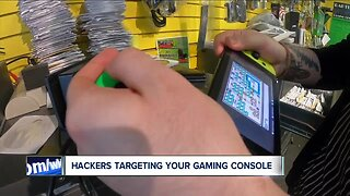 Hackers targeting your gaming console