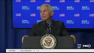 Fauci trying to ease minds about vaccine