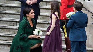 Meghan Markle Wore Canadian Design At Commonwealth Day