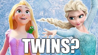 Are Elsa and Rapunzel Twins?! | Frozen Theories - Video