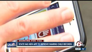 CALL 6: State launches app to improve sharing child records - Video