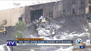 2 dead after small plane crashes in Ft. Lauderdale