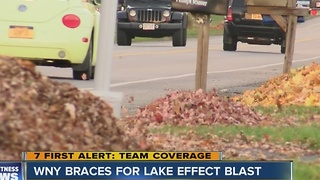 WNY Braces for Lake Effect Blast - Video