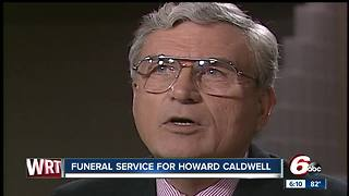 Indianapolis remembers Howard Caldwell during memorial services - Video