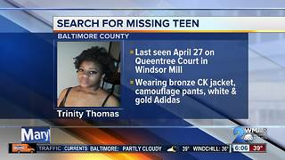 Police searching for missing 15-year-old - Video
