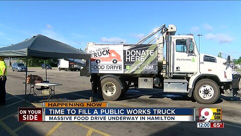 Massive Food Drive Underway in Hamilton