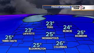 Coldest air of season ahead! - Video