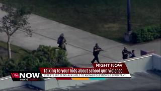 Talking to your kids about school gun violence - Video