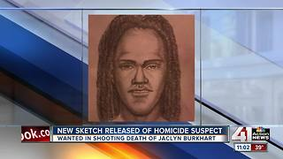 Police release sketch of man wanted in murder - Video