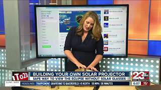 Building your own solar eclipse projector - Video