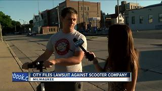 Milwaukee files lawsuit against scooter company