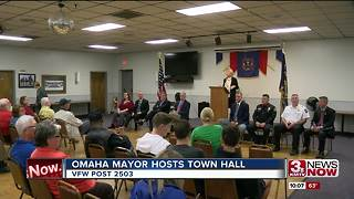 Mayor Stothert hosts town hall meeting - Video