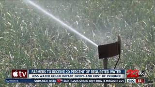 Water crunch hitting Kern County farms
