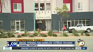 Homeless veterans get new homes