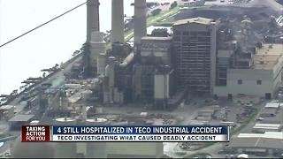 4 still hospitalized after TECO industrial accident - Video