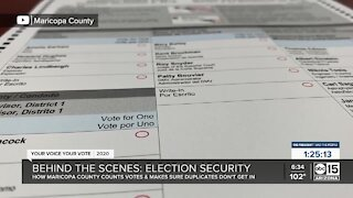 Behind the scenes: Election security