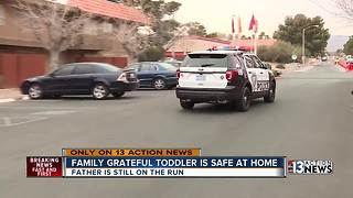 Family grateful toddler is safe after abduction - Video
