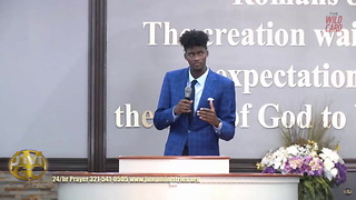 Watch Orlando Magic Forward Jonathan Isaac's First Sermon - Video