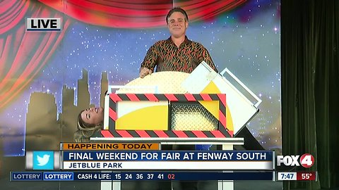 Fair at Fenway South this weekend