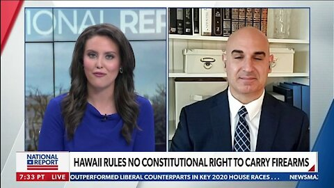 HAWAII COURT RULES THERE'S NO CONSTITUTIONAL RIGHT TO CARRY FIREARMS