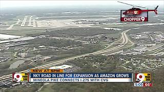 Mineola Pike to undergo $45M expansion as Amazon grows in region - Video