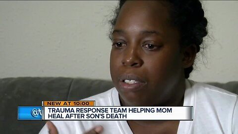 Trauma Response Team helping Milwaukee mother heal after son's death